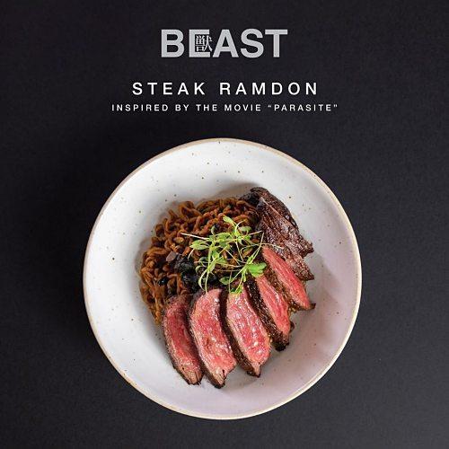View Steak Ramdon at Beast by BIG
