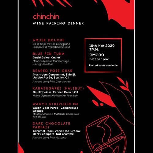 View Wine Pairing Dinner at Chin Chin Gastropub