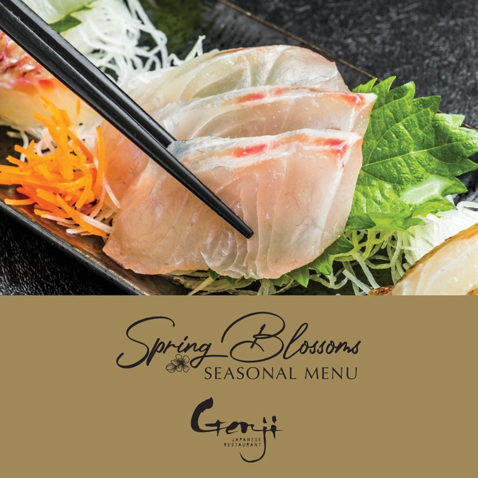 View Spring Blossoms Menu at Genji Japanese Restaurant
