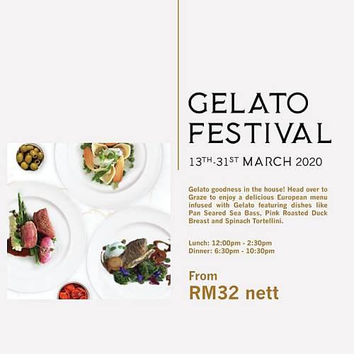 View Gelato Festival at Graze @ Hilton Kuala Lumpur