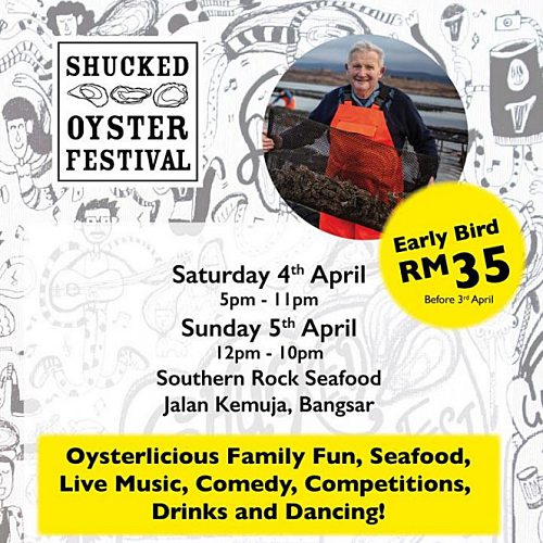 View Oyster Festival at Southern Rock Seafood