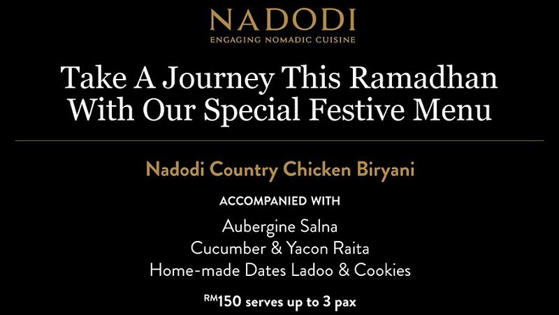 View Raya Menu at Nadodi