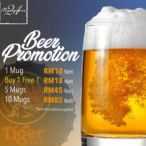 View Beer Promo at Mangiare 21