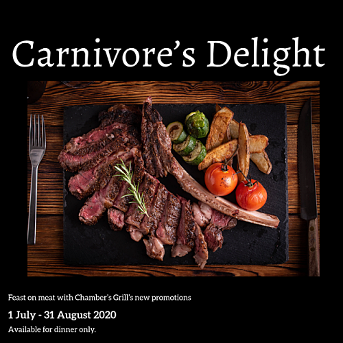 View Carnivore Promo at Chambers KL