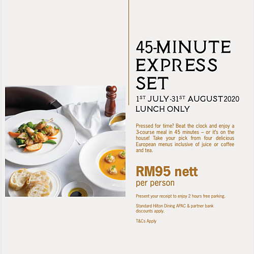 View Set Lunch Promo at Graze