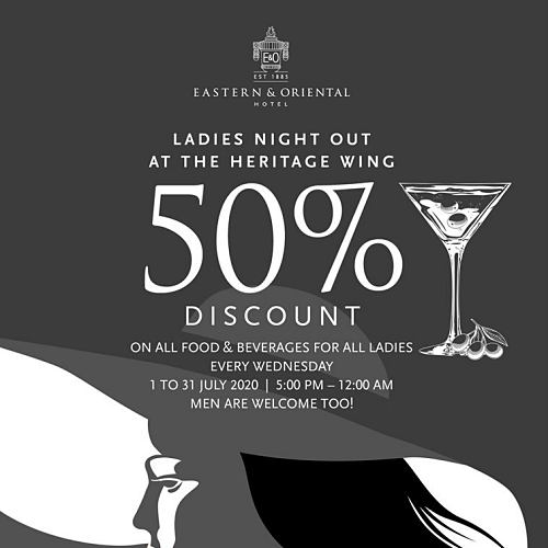 View Ladies Night Promo at E&O