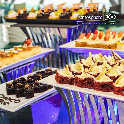 View Semi-Buffet Promo at Atmosphere 360 Revolving Restaurant