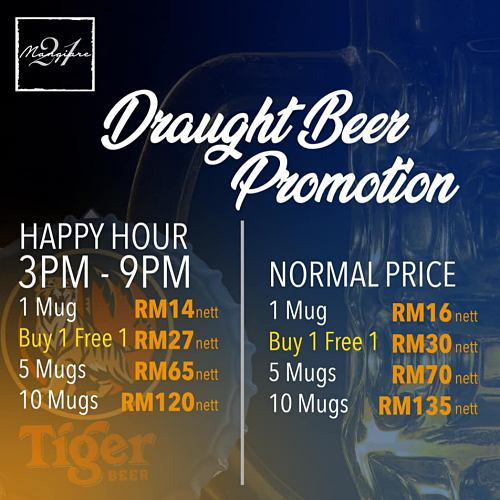 View Happy Hour Promo at Mangiare 21