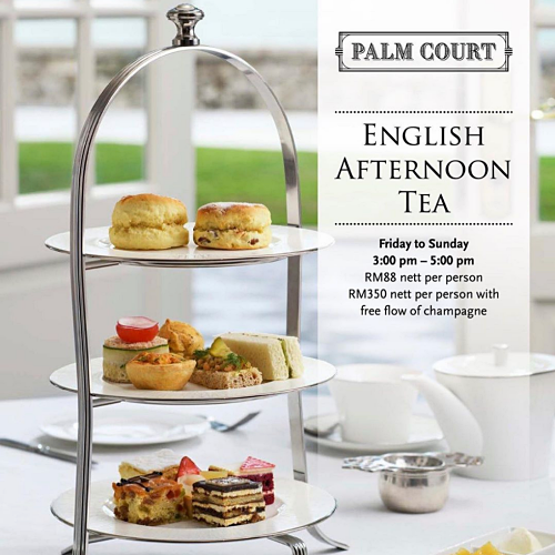 View English Afternoon Tea at Palm Court