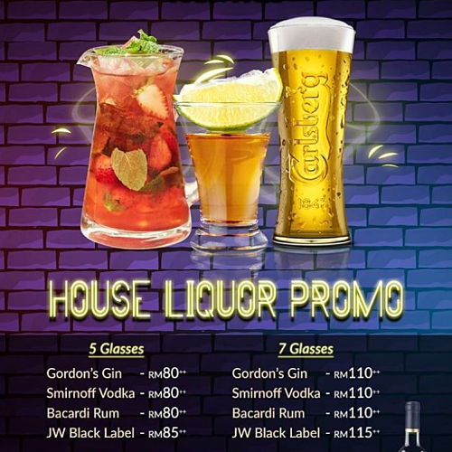 View House Liquor Promo at Raintree