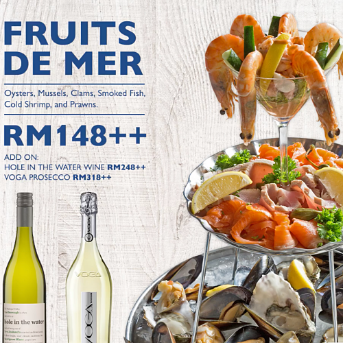 View Fruits De Mer at Southern Rock Seafood