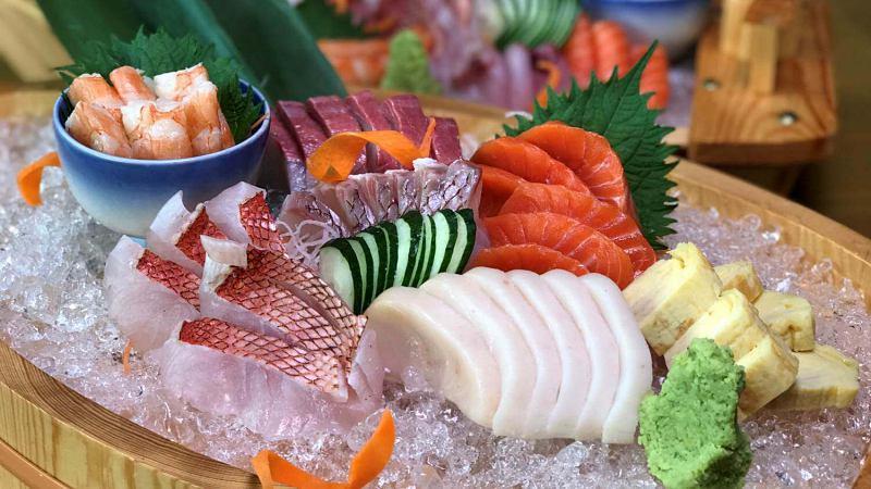 View Sashimi Platter at Yamaguchi Fish Market