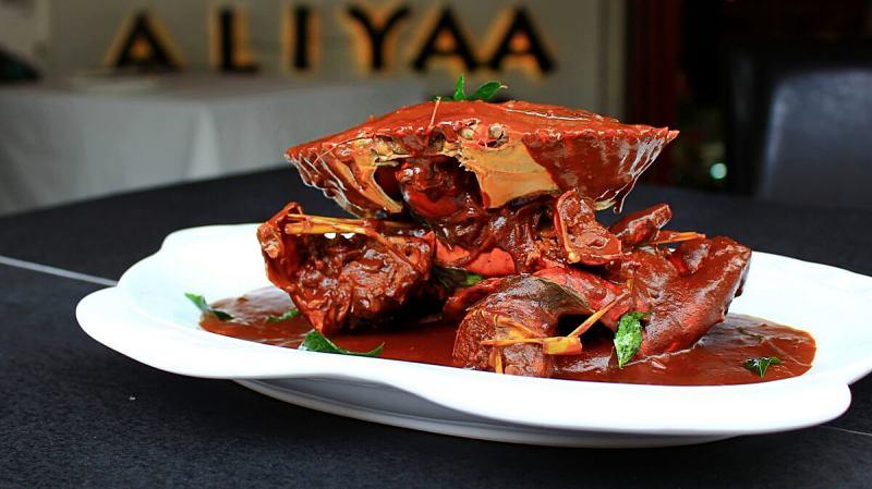 View Sri Lankan Crab Colombo at ALIYAA Restaurant & Bar
