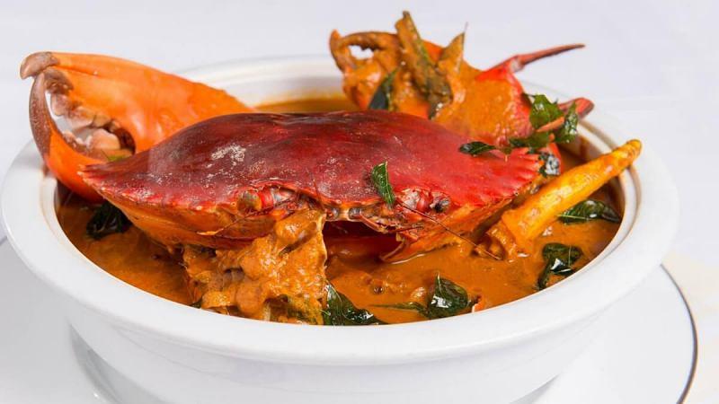 View Sri Lankan Crab Jaffna at ALIYAA Restaurant & Bar