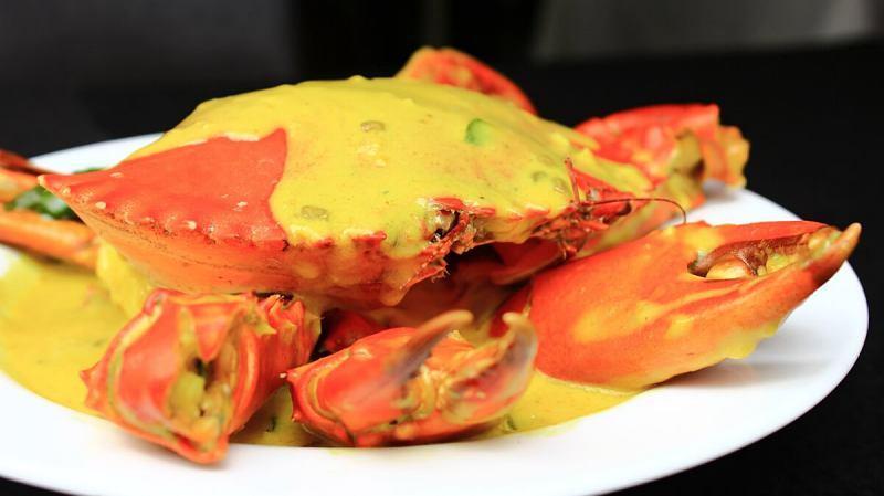 View Sri Lankan Crab Sothi at ALIYAA Restaurant & Bar