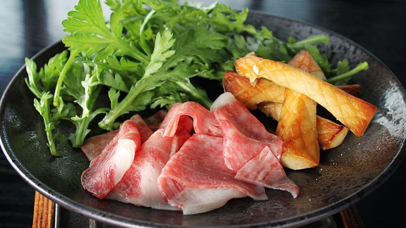 View Truffle A5 Wagyu Sukiyaki at Babe