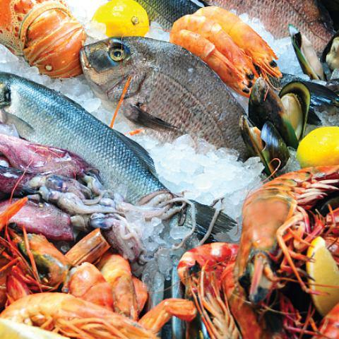 View Seafood Market at Makan Kitchen @ DoubleTree by Hilton Hotel Penang