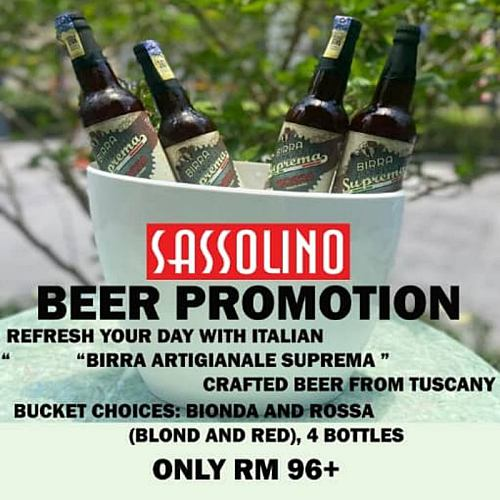 View Beer Promo at Sassolino Beer Promo