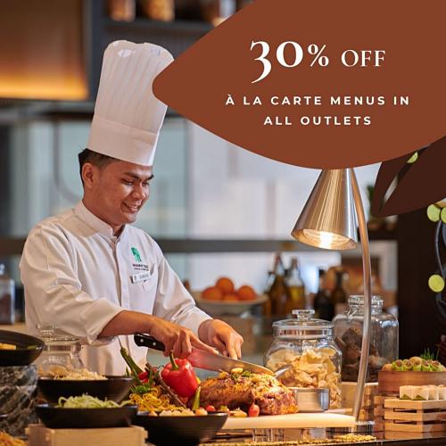 Get 30% Off A La Carte Menu at Banyan Tree Kuala Lumpur