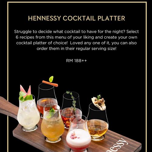 View Hennessy Platter at Beta KL
