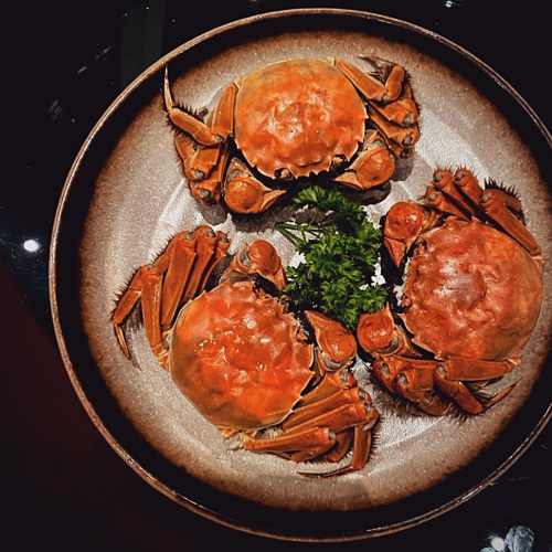 View Hairy Crab at Way Modern Chinois