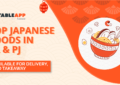 View Top Japanese Restaurants In KL & PJ Offering Japanese Food Delivery and Takeaway
