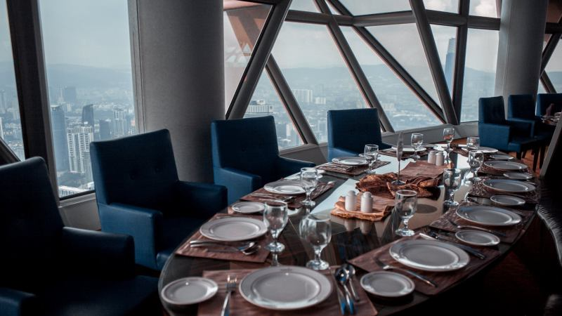 View Christmas Buffet at Atmosphere360 Revolving Restaurant KL Tower