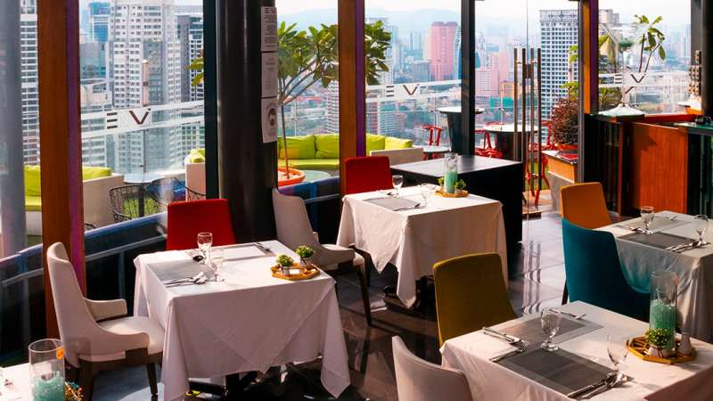 View Envi Skydining & Bar - Top Scenic Restaurants for New Year Celebration in KL & PJ