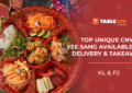 View Chinese New Year Yee Sang Menus in KL and PJ 2021