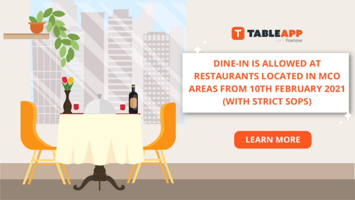 [Dining News] Dine-In Is Now Allowed, With Strict SOPs