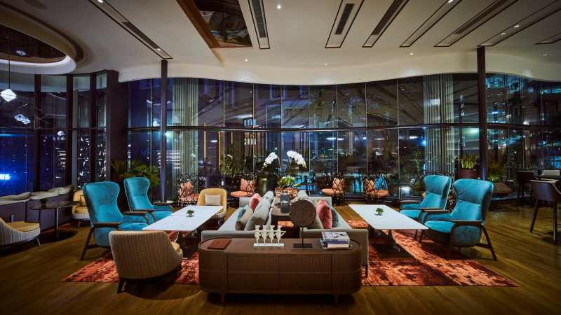 View Top Places for Group Dining - Bottega Lounge