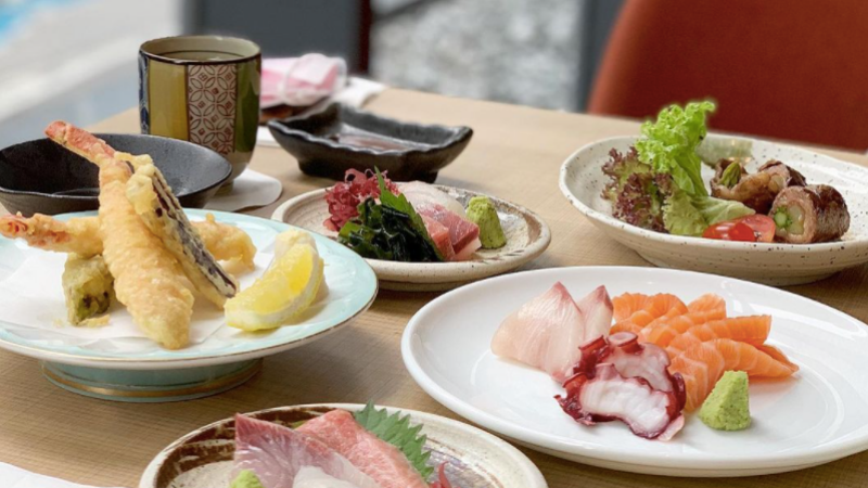 View Top Places for Group Dining - Kampachi Pavilion