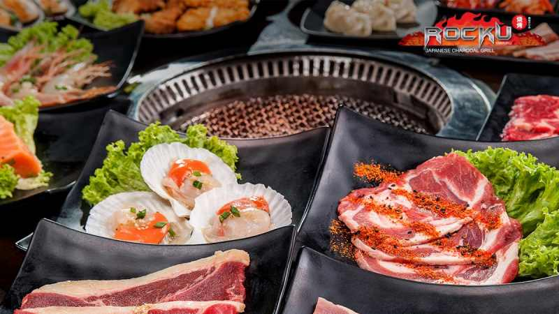 View Top Places for Group Dining - Rocku Yakiniku Pavilion