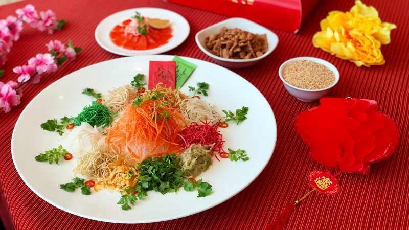 View Chinese New Year Yee Sang at Chynna Hilton Kuala Lumpur