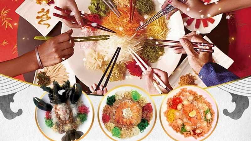 View Chinese New Year Yee Sang at JIO