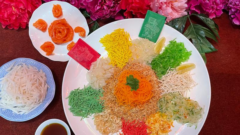 View Chinese New Year Yee Sang at Paya Serai Hilton Petaling Jaya
