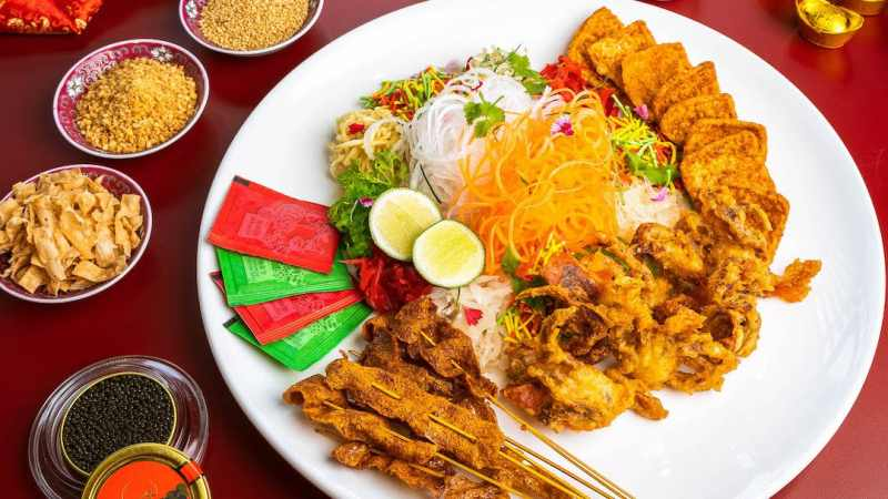 View Chinese New Year Yee Sang at Quan's Four Points by Sheraton Kuala Lumpur