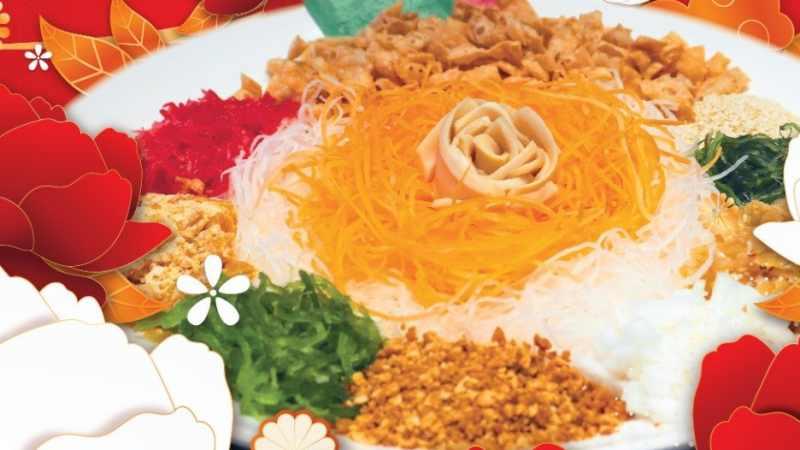 View Chinese New Year Yee Sang at ROCKU Yakiniku