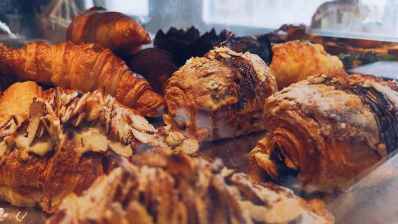 View Pastries and Coffee Takeaway at Ground Coffee