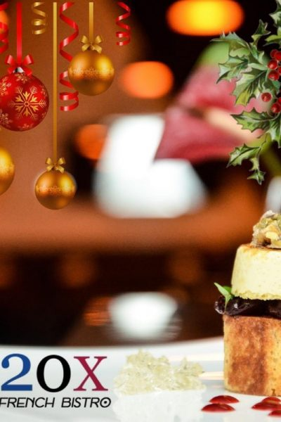 Click here to view Christmas menu at 2Ox French Bistro Bar